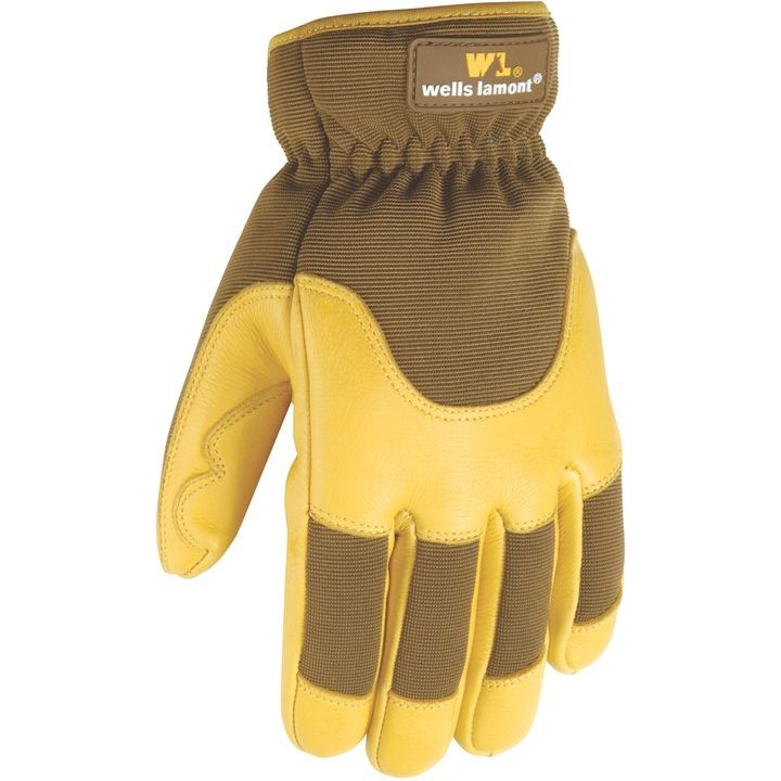 Grips® Gold Insulated Deerskin Glove