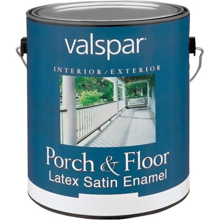 1 Gallon Interior/Exterior Porch & Floor Latex Stain Enamel Paint