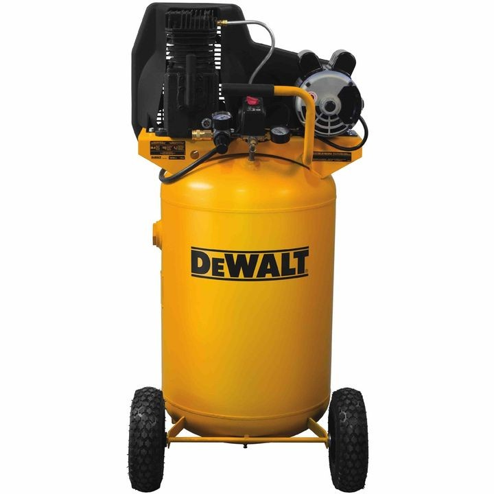 30 Gallon Belt-Drive Dual Voltage Cast Iron Air Compressor