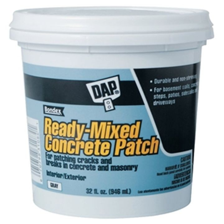 1 Quart Gray, Musty, Paste Bondex Ready-To-Use Concrete Patch