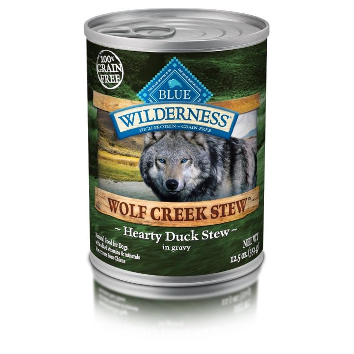 Wilderness Wolf Creek Grain Free Hearty Duck Stew Canned Dog Food
