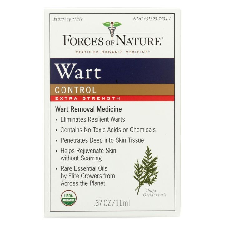 - Organic Wart Control - Extra Strength - 11 Ml