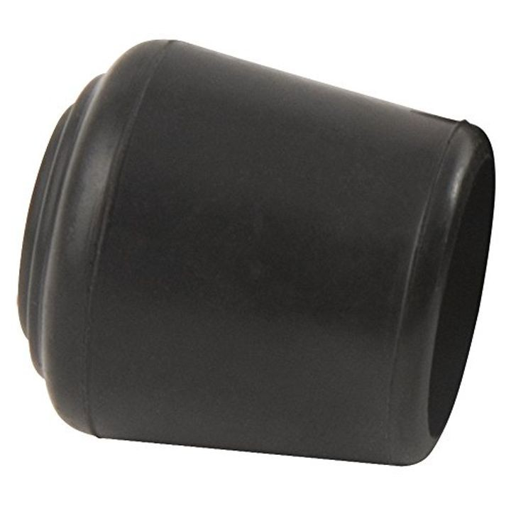 "Black 3/4"" Black Rubber Leg Tips"