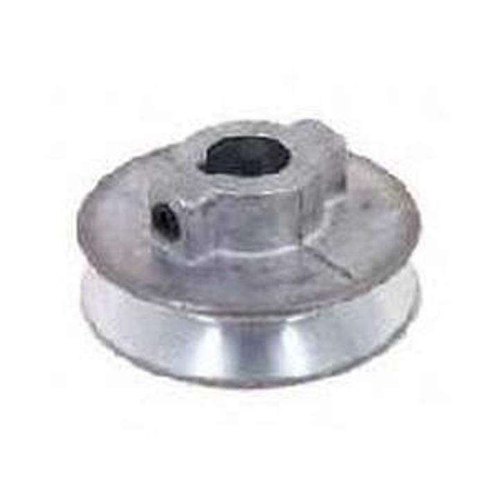 1/2 In X 1-1/2 Inches  Single V-Grooved Pulley