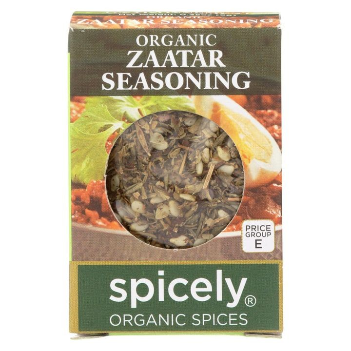 - Organic Zaatar Seasoning - Case Of 6 - 0.35 Oz.