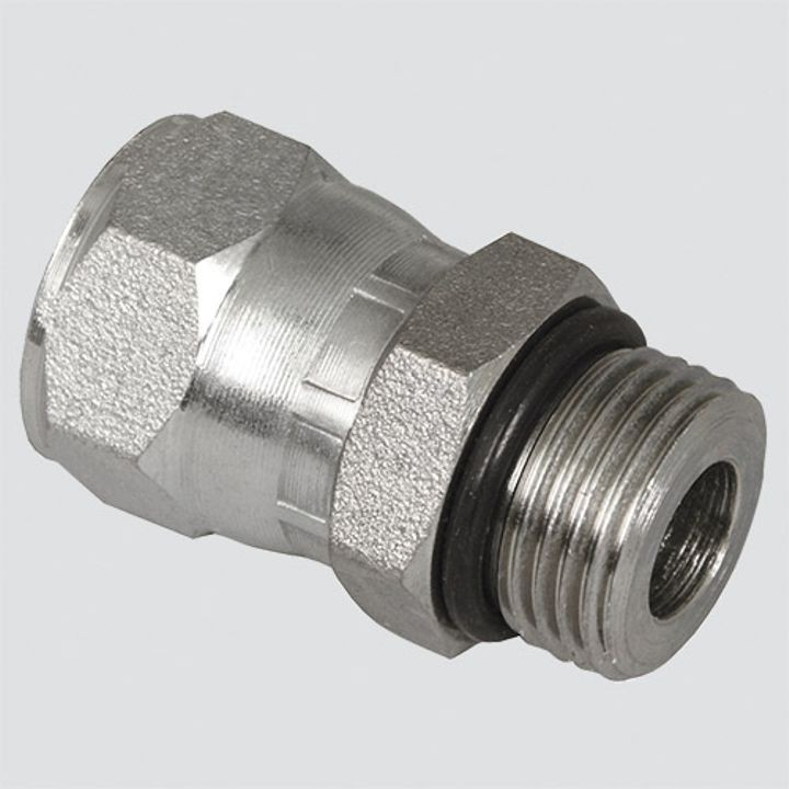 1/2 Inch Male O-ring Boss x 1/2 Inch Female Pipe Thread Hydraulic Adapter