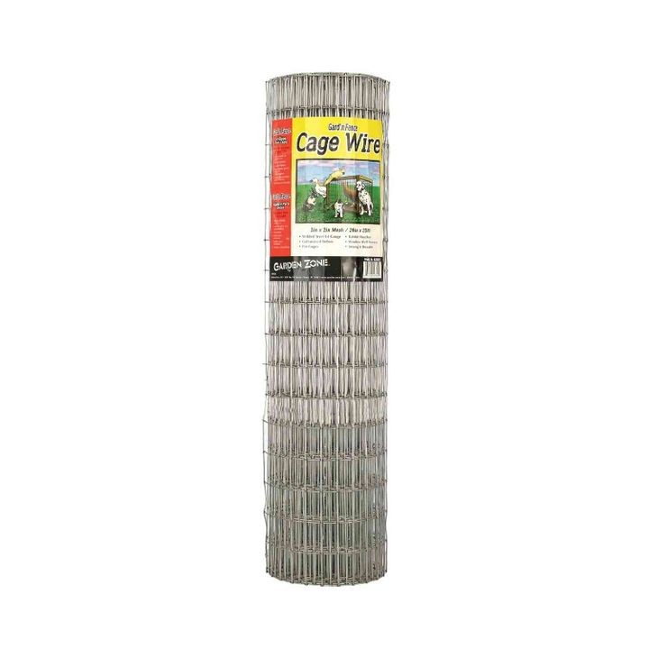 "1"" X 2"" X 24""  - 25' 14 Gauge Mesh Wire Roll"