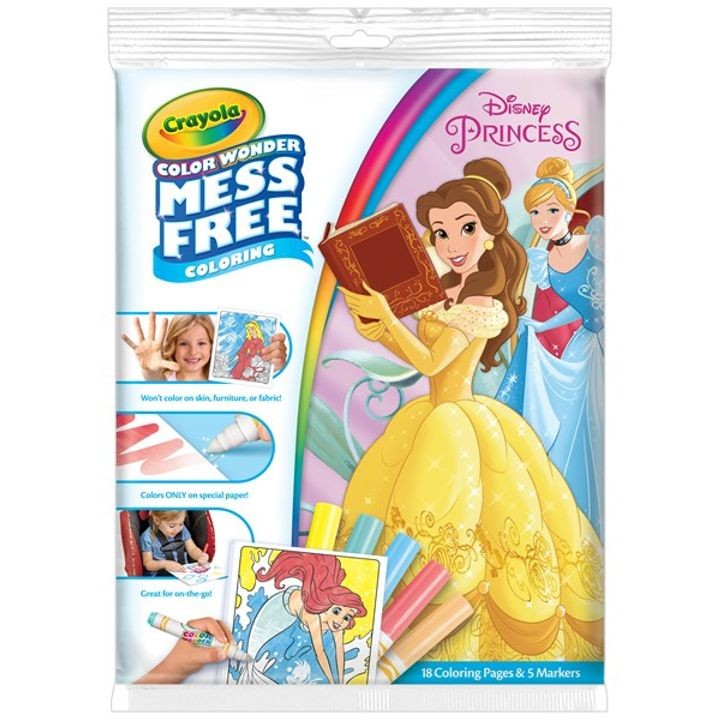 Disney Princess Color Wonder Coloring Pad & Markers | Theisen\'s Home ...