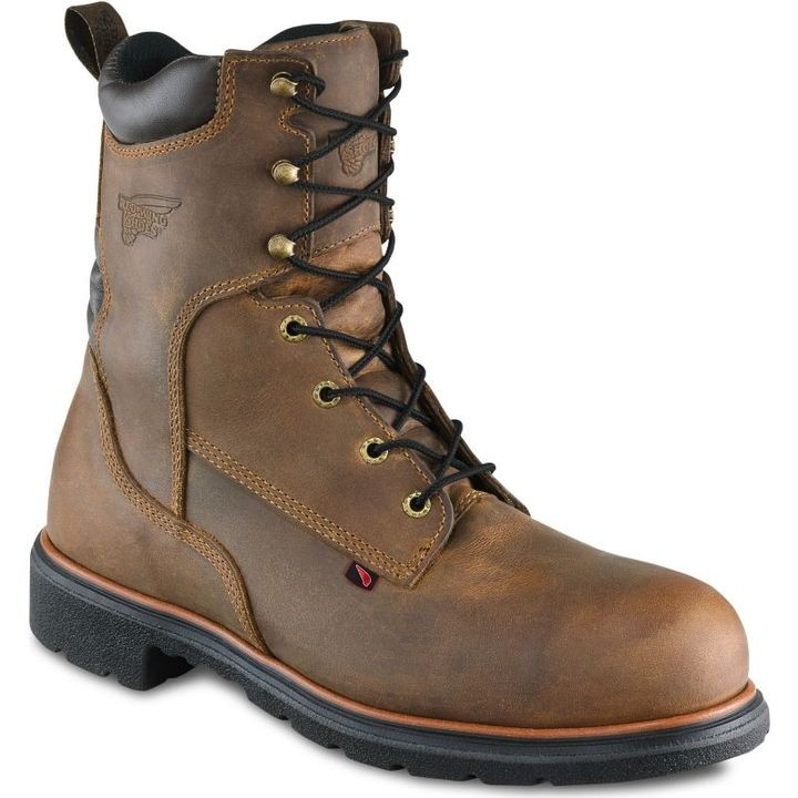 "Men's Golden Bighorn 8"" Leather Work Boot"