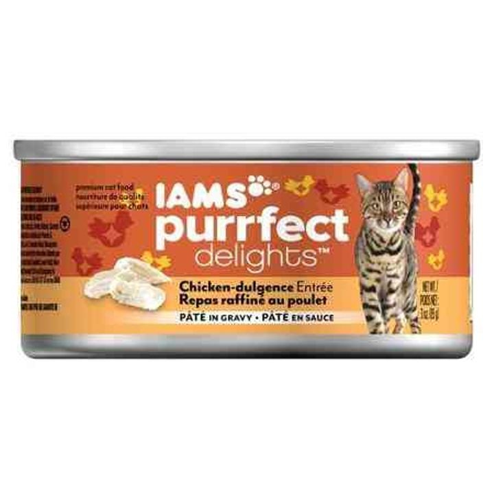 Purrfect Delights Canned Cat Food