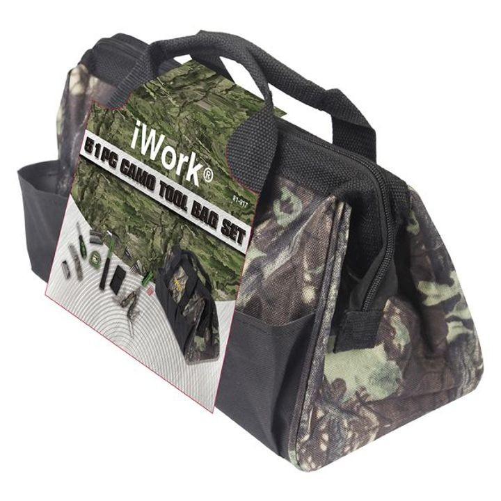 51 Pc Camo Tool Bag Set