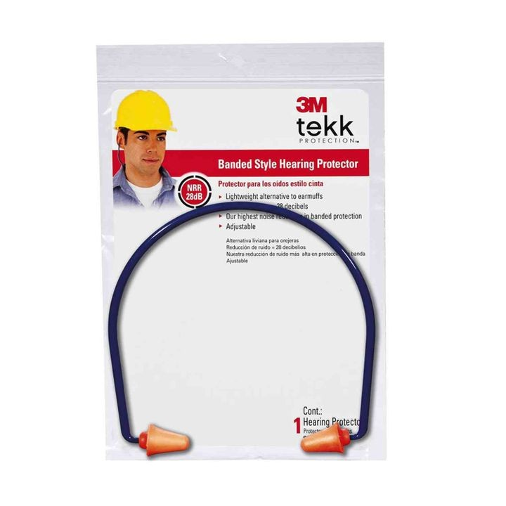 Tekk Protection Banded Style Ear Plug