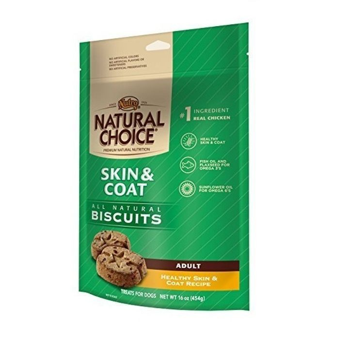 All natural Skin & Coat Adult Dog Biscuits