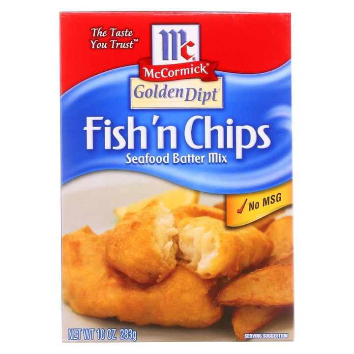 - Breading - Fish N' Chips - Case Of 8 - 10 Oz.