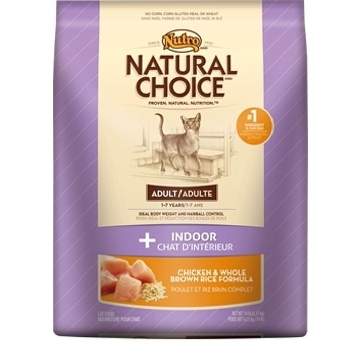 Natural Choice Indoor Adult Cat Food