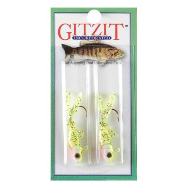 1/8oz Little Tough Guys Chartreuse Lure