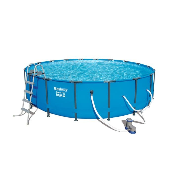 18 Feet x 48 Inch Steel Pro Max Frame Swimming Pool Set | Theisen\'s ...