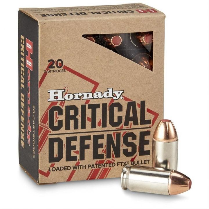 .45 ACP 185 Grain Flex Tip Critical Defense Ammo 20 Round Box