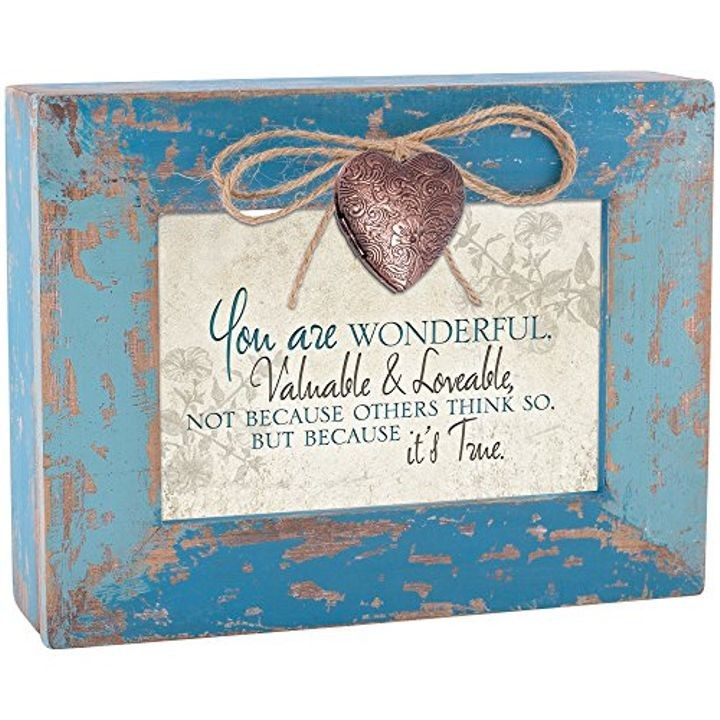 """You Are Wonderful"" Locket Box"