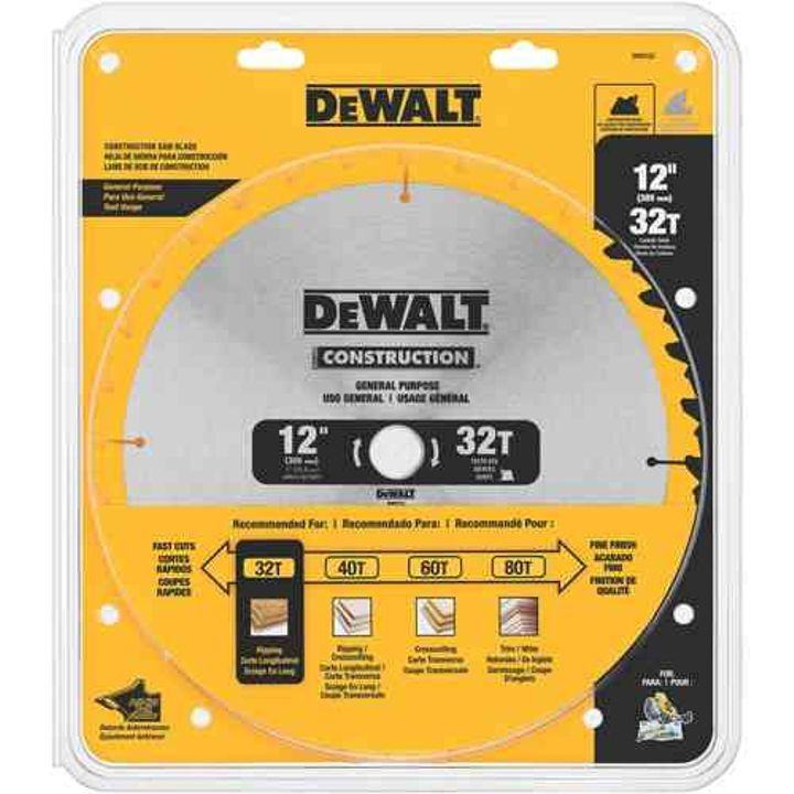 "12"" 32T General Purpose Saw Blade"