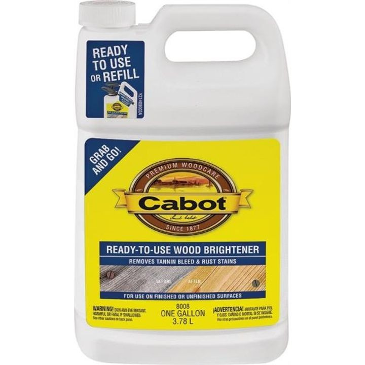 1 Gallon Liquid Wood Brightener