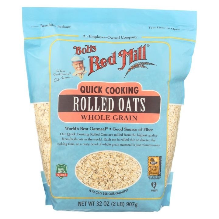 - Quick Cooking Rolled Oats - Case Of 4-32 Oz.