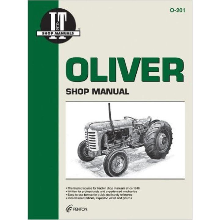 Shop Manuals For Oliver Tractors