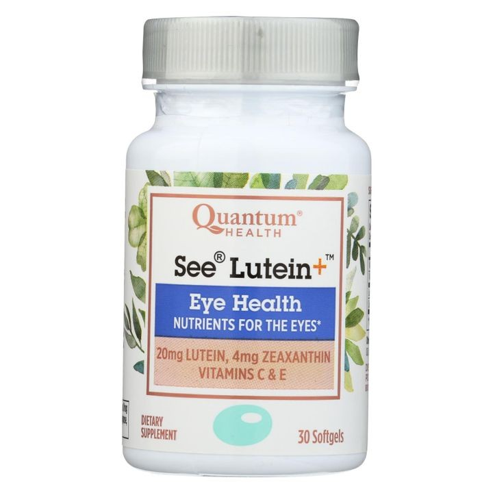 - See Lutein Eye Health - 1 Each - 30 Sgel
