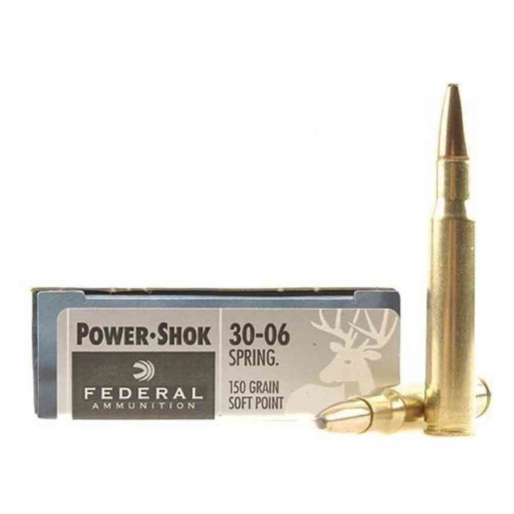 Power Shok 30-06 Springfield Ammunition