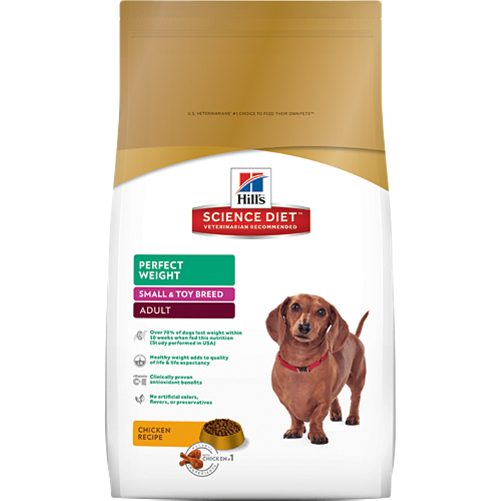 Adult Perfect Weight Small & Toy Breed Dog Food