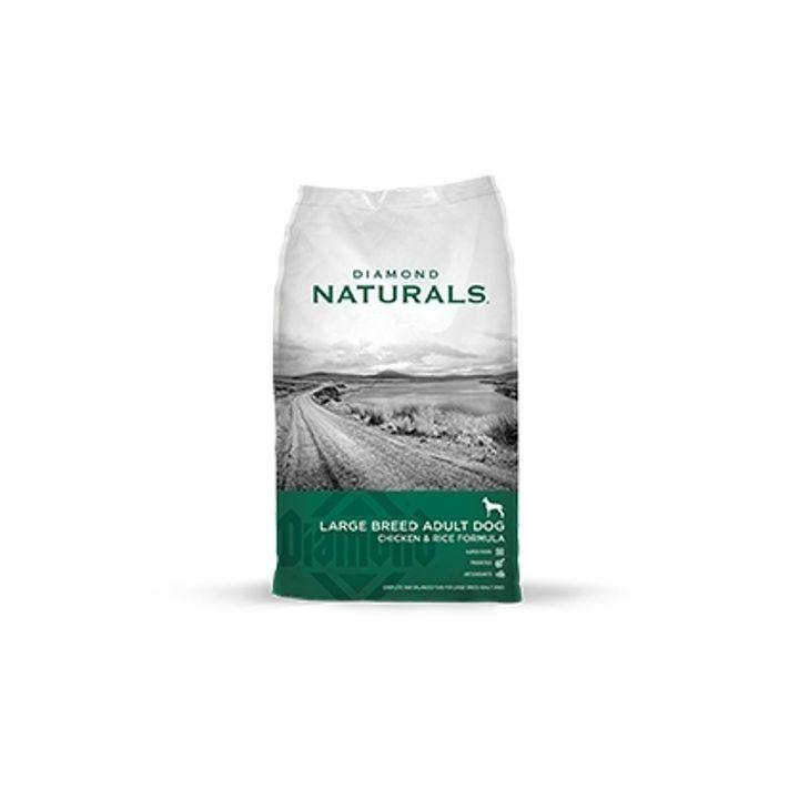 Naturals Large Breed Adult Chicken & Rice Formula