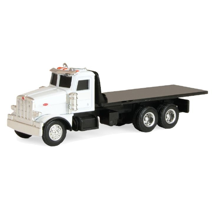 1:64 Collect N Play Peterbilt Flatbed Truck