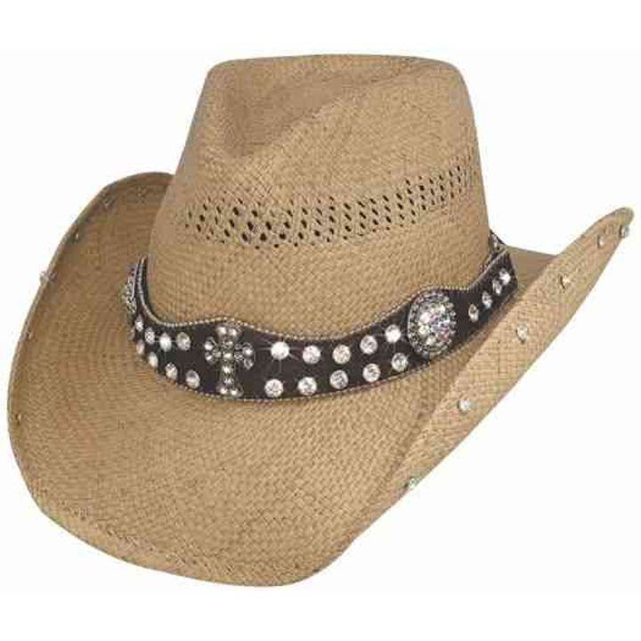 Western Straw More Than Words Cowboy Hat