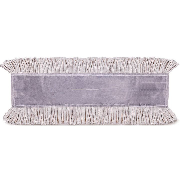 Continental Commercial E Line Tie Free C404036 Disposable, Untreated Back  Dust Mop Head, Cotton/polyester/synthetic