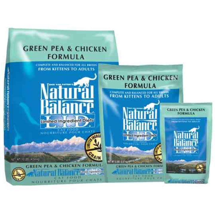 Limited Ingredient Diet Dry Cat Food