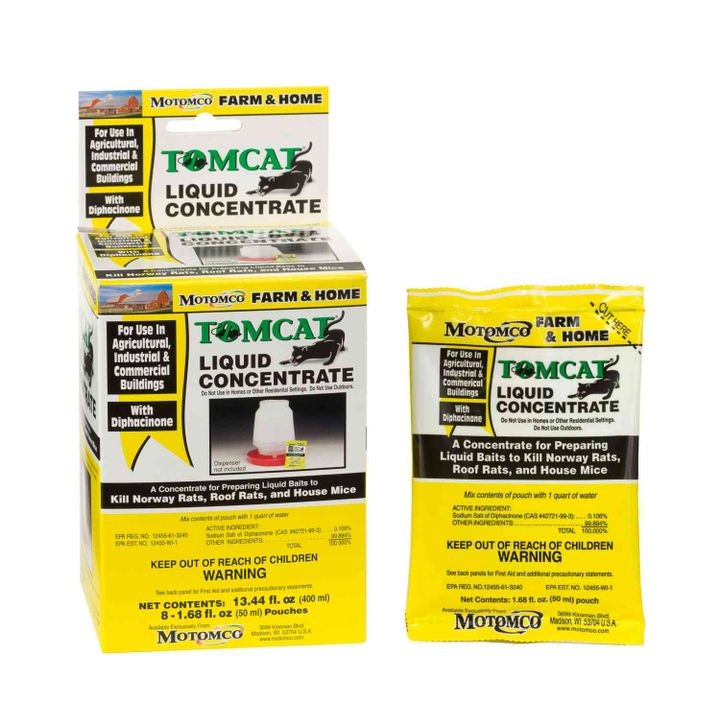 Tomcat Liquid Concentrate Pouches