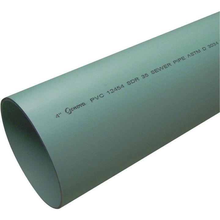 6 X10u0027 Solid PVC Drain Pipe  sc 1 st  Theisenu0027s & 6