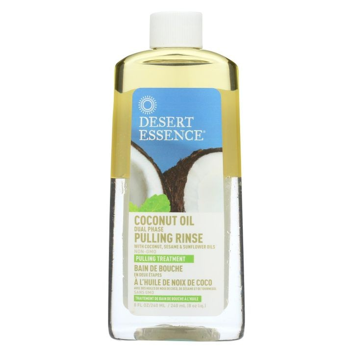- Pulling Rinse With Coconut Sesame And Sunflower Oils - 8 Fl Oz