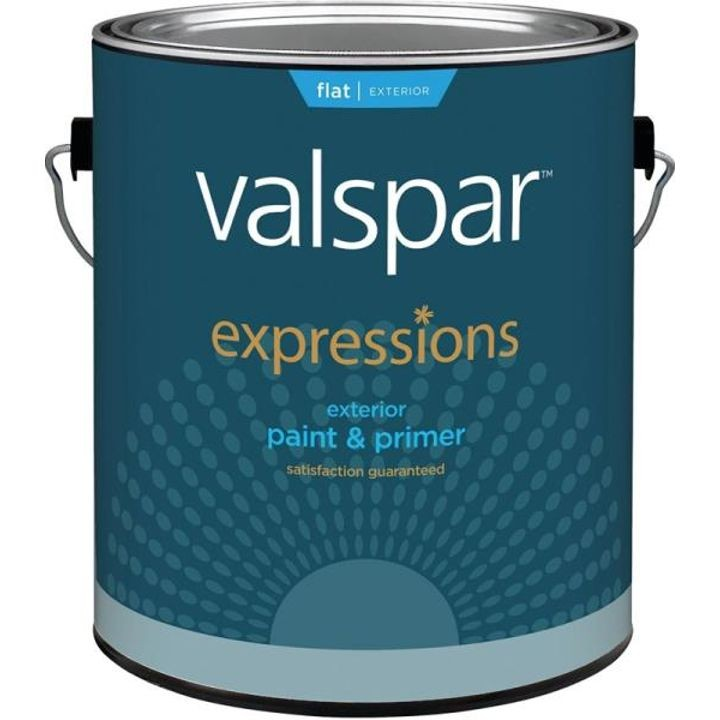 1 Gallon Flat Clear Base Expression Exterior Paint