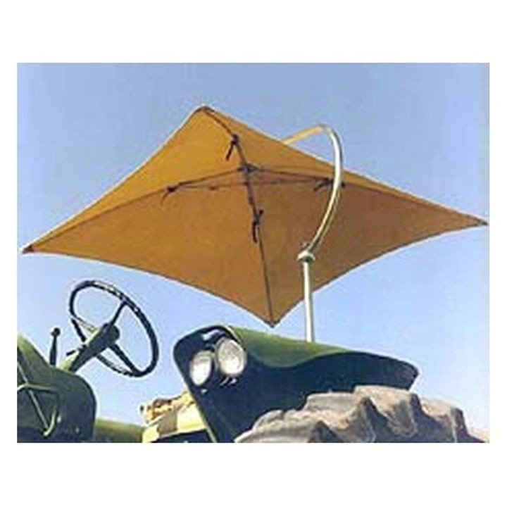 Tractor Umbrella With Yellow Canvas