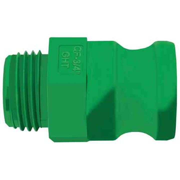 Gator Lock MGHT/Male Quick Garden Hose Adapter Coupling