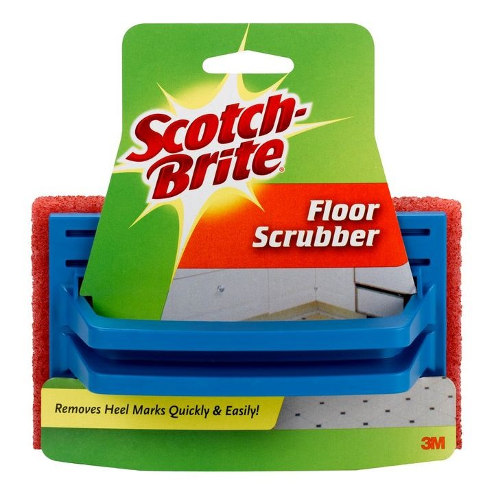 Scotch-Brite® Handled Multi-Purpose Floor Scrubber