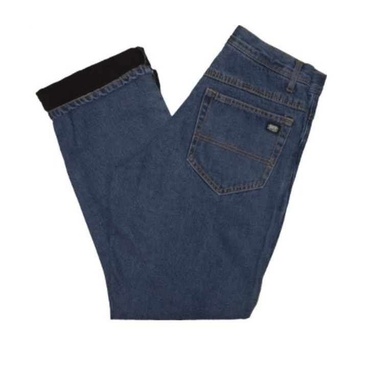 a10a051dd91 Men's Performance Comfort Fleece Lined Relaxed Fit Jeans | Theisen's ...