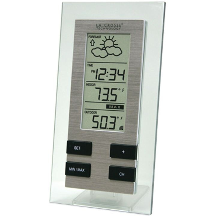 La Crosse Ws 9215u It Cbp Wireless Forecast Station 14 2 139 8 Deg