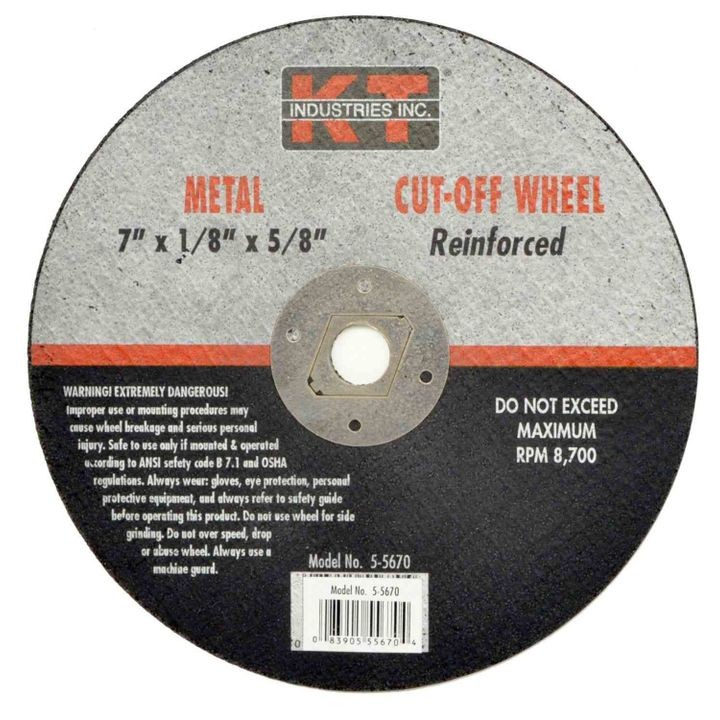 Portable Saw Reinforced Cut Off Wheel