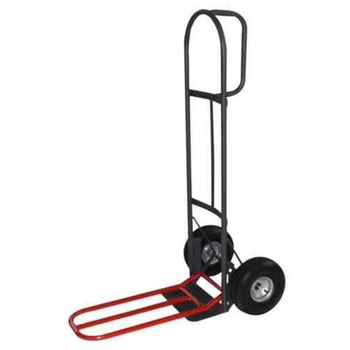 D-Handle Hand Truck With Nose Plate Extension