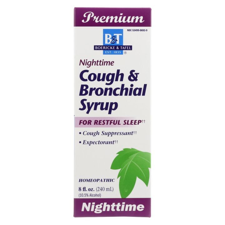 - Cough And Bronchial Syrup Nighttime - 8 Fl Oz