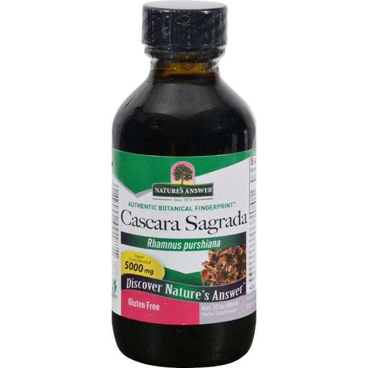 - Cascara Sagrada Bark - 3 Fl Oz
