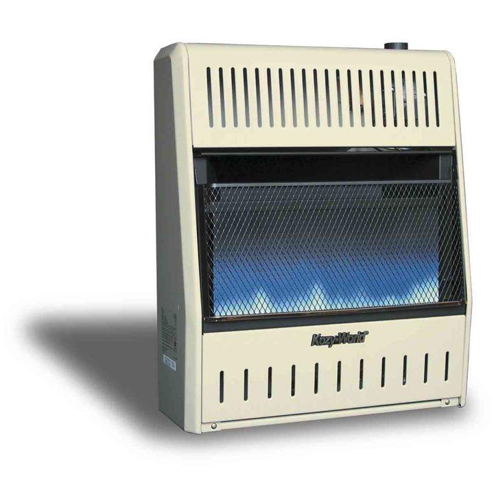 Kozy World 20 000 Btu Vent Free Dual Fuel Gas Wall Heater