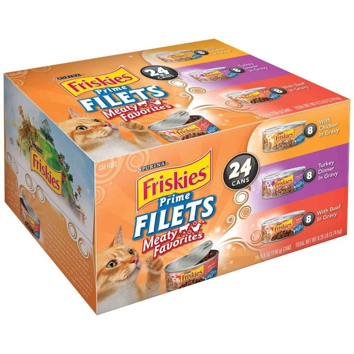 Friskies Prime Filets Canned Cat Food
